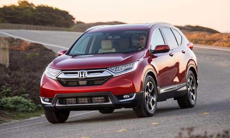 2018 Honda CRV front