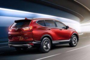 2018 Honda CRV rear side