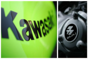 Kawasaki bajaj partnership