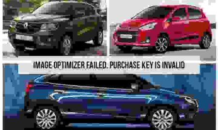 Top Ten best selling cars in India in 2016-17