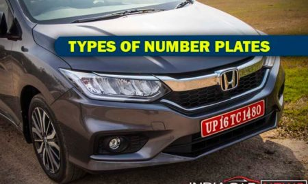 Types Of Number Plates