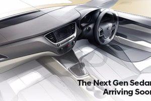 2017 Hyundai Verna Interior sketch