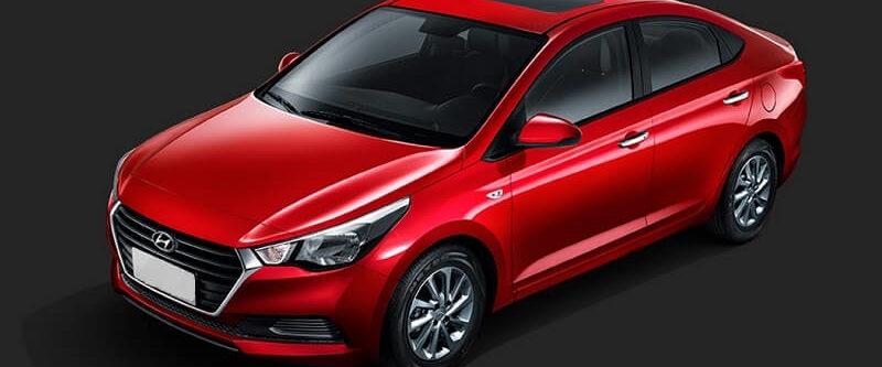New Hyundai Verna sedan