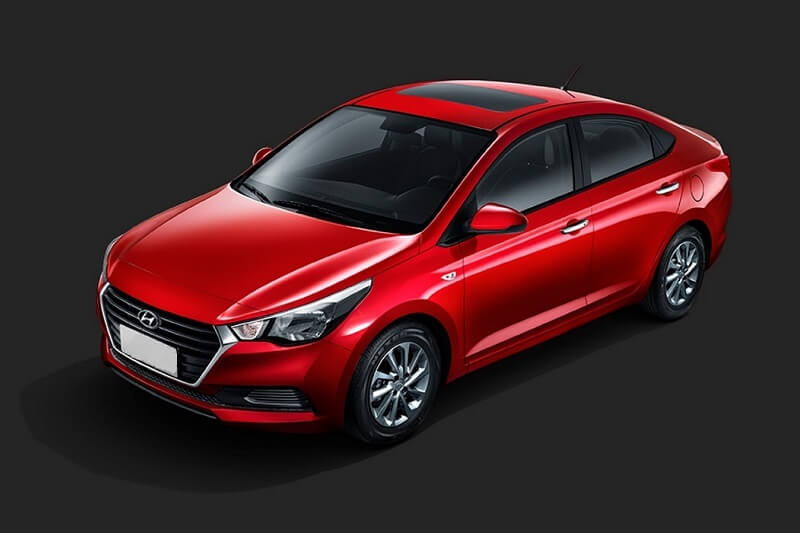 New Hyundai Verna sedan