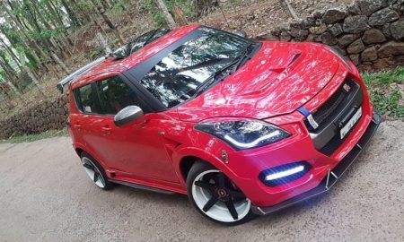 Maruti Swift Modified Like Nissan GTR