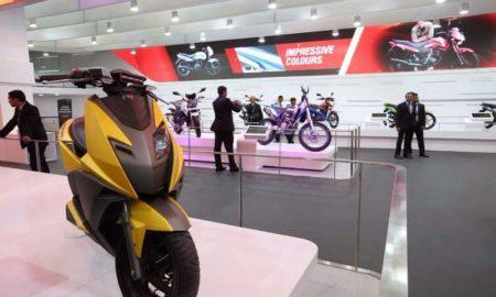 TVS Graphite Concept Scooter