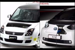 Toyota-Suzuki To Develop Electric Cars