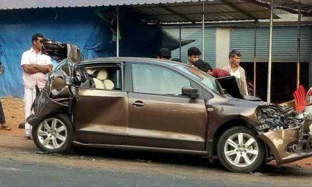 Volkswagen Vento Accident