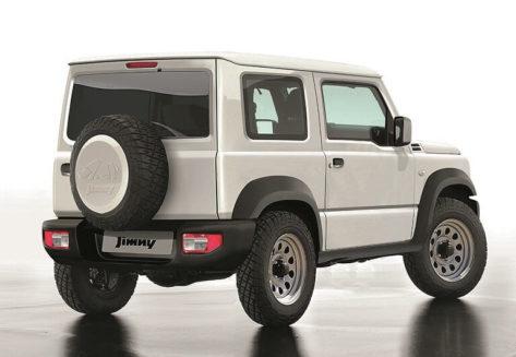 New Suzuki Jimny Rear
