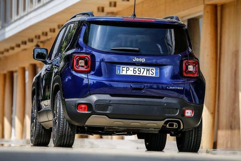2019 Jeep Renegade Facelift rear