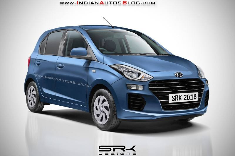 New Hyundai Santro Rendering