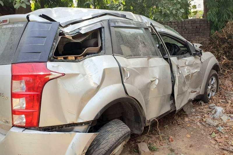 Mahindra XUV500 Accident airbag fails