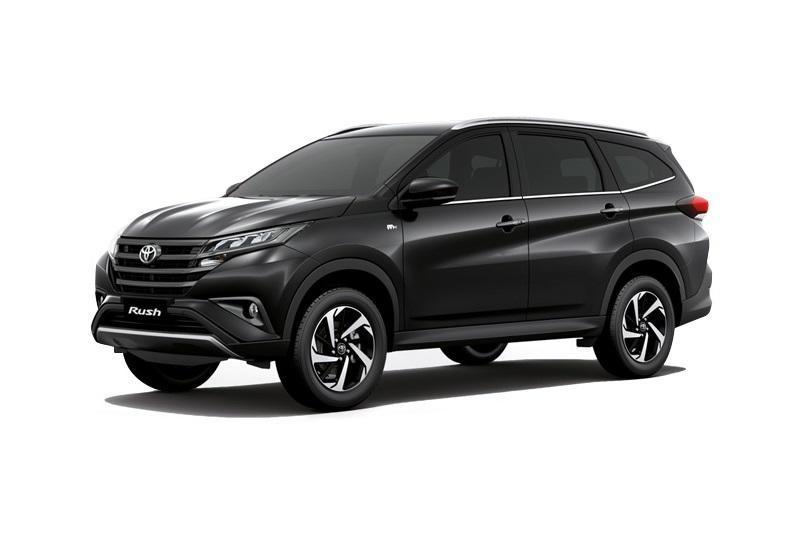 Toyota Rush Black 2018