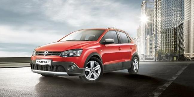 volkswagen cross polo launched for rs lakh india car news. Black Bedroom Furniture Sets. Home Design Ideas