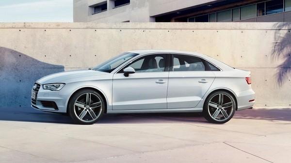 Audi A3 Sedan India Side