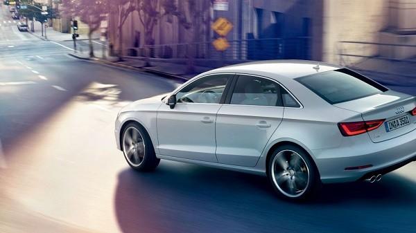 Audi A3 Sedan Side Rear