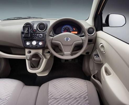 Datsun Go+ MPV interior