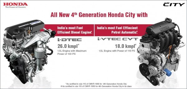 New 2014 Hodna City Diesel- Mileage, Specs and Features