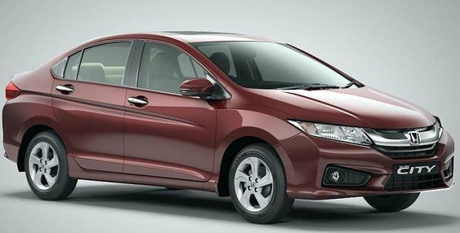 New Honda City 2016 Side Profile