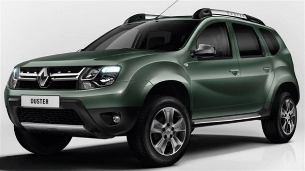 New Renault Duster Facelift front view