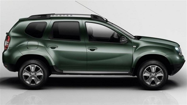 New Renault Duster Facelift side view