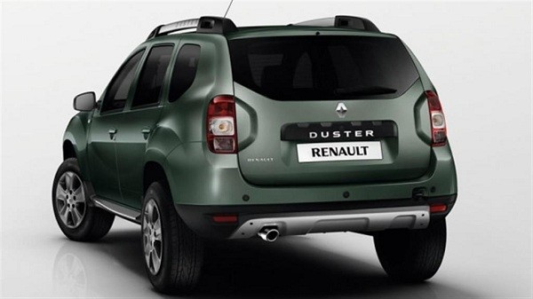 New Renault Duster Facelift Rear
