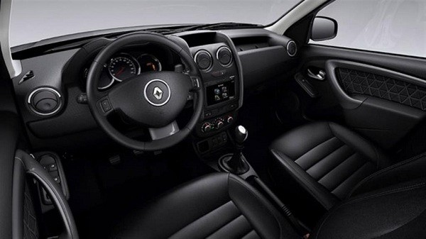New Renault Duster Facelift interior