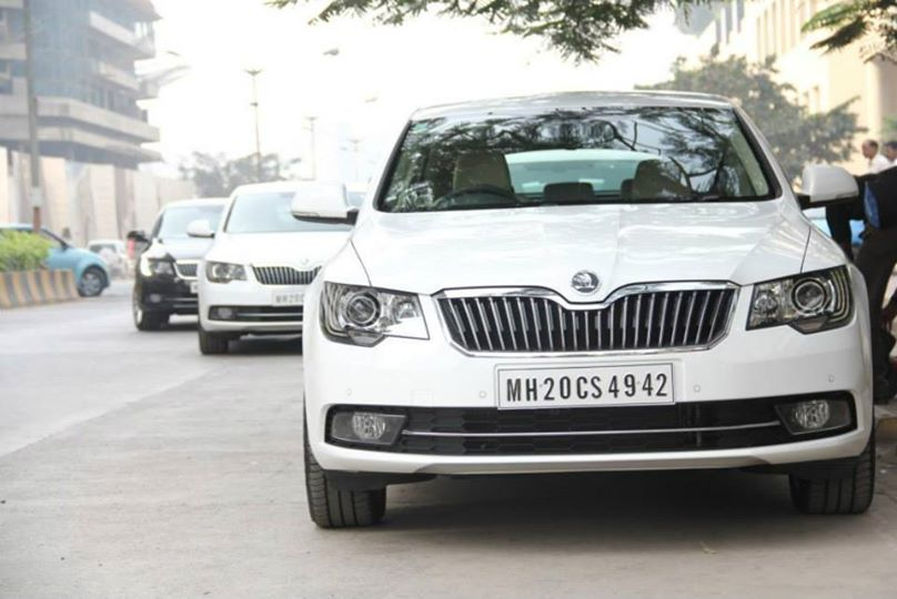2014 Skoda Superb Facelift for India