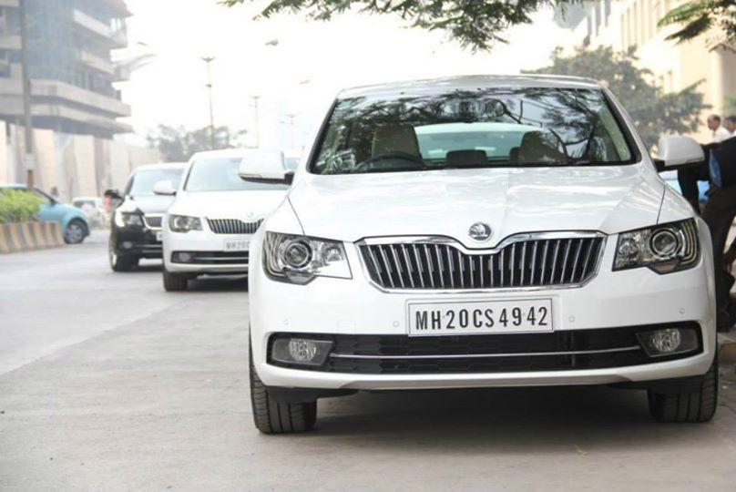 2014 Skoda Superb Facelift for India