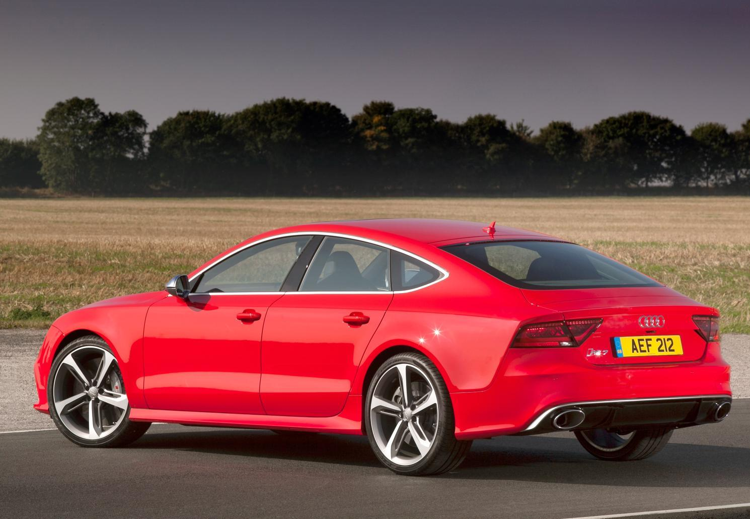Audi RS7 Sporty sedan's India launch on January 6, 2014
