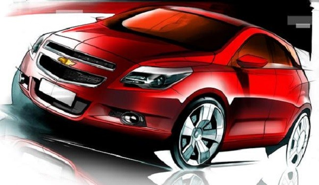 Chevrolet Gamma 2 Compact SUV Concept coming to 2014 Auto Expo