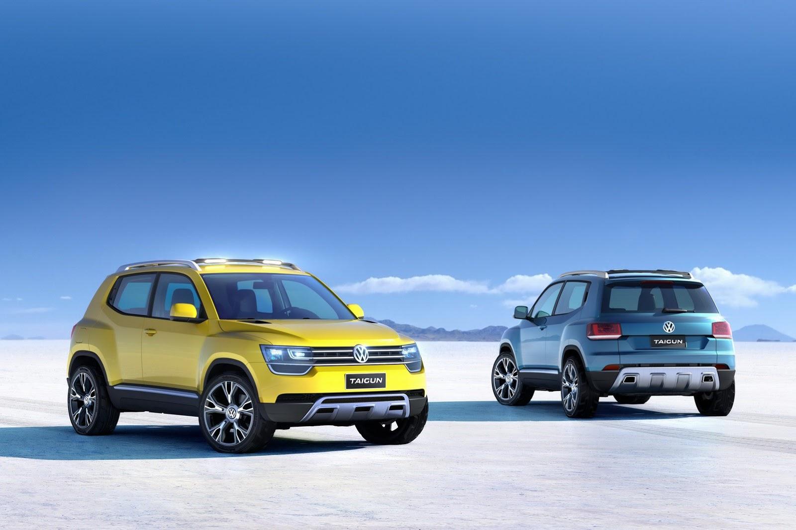 Volkswagen Taigun compact SUV for India