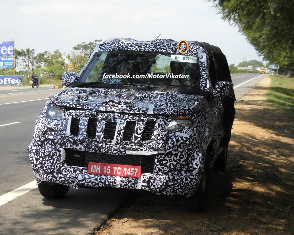 New Mahindra Scorpio Suv Spied Launching Soon