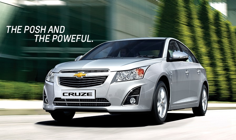 Updated Chevrolet Cruze