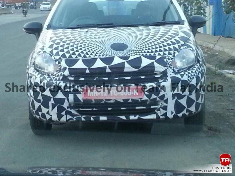 Fiat Punto facelift front