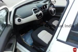 Fiat Punto facelift interior