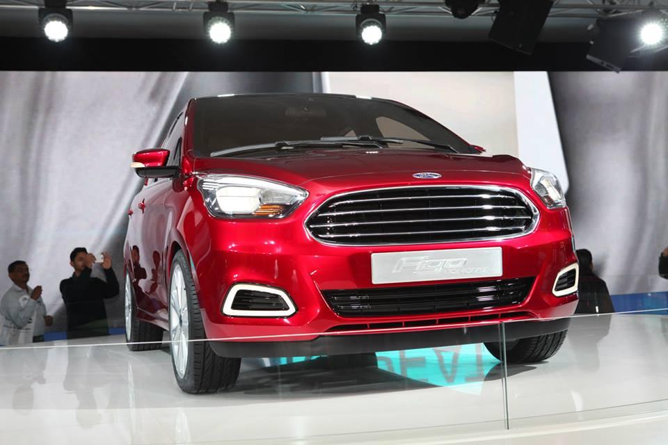Ford Figo compact sedan concept