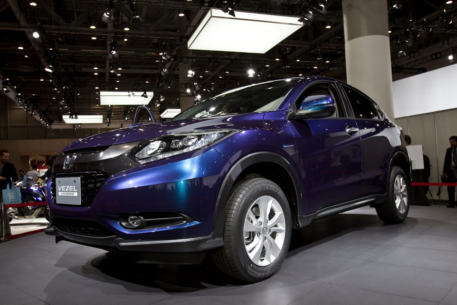 honda vezel aka hr v crossover to unveil at paris motor show. Black Bedroom Furniture Sets. Home Design Ideas