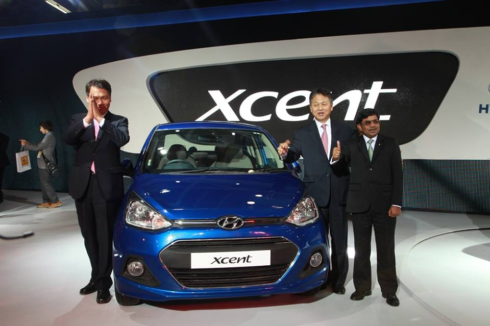 Hyundai Xcent launched