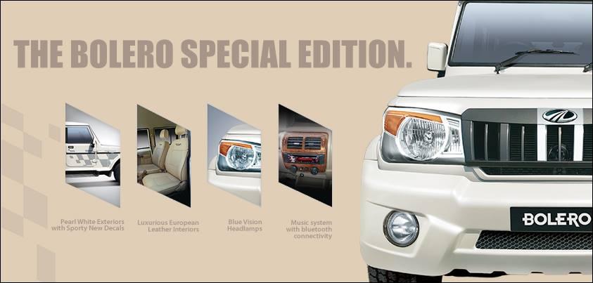 Mahindra Bolero Special Edition