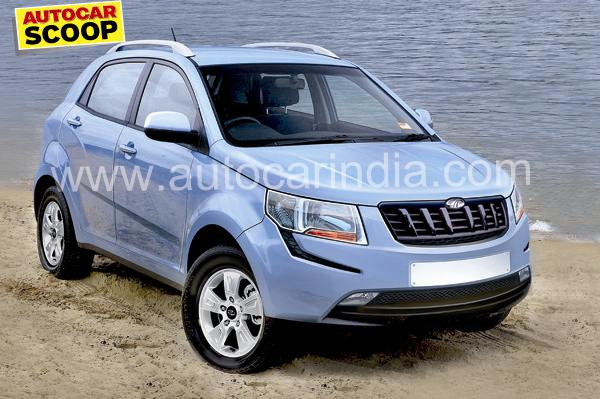 Spied Mahindra S101 Compact Suv Gets Bench Type Front