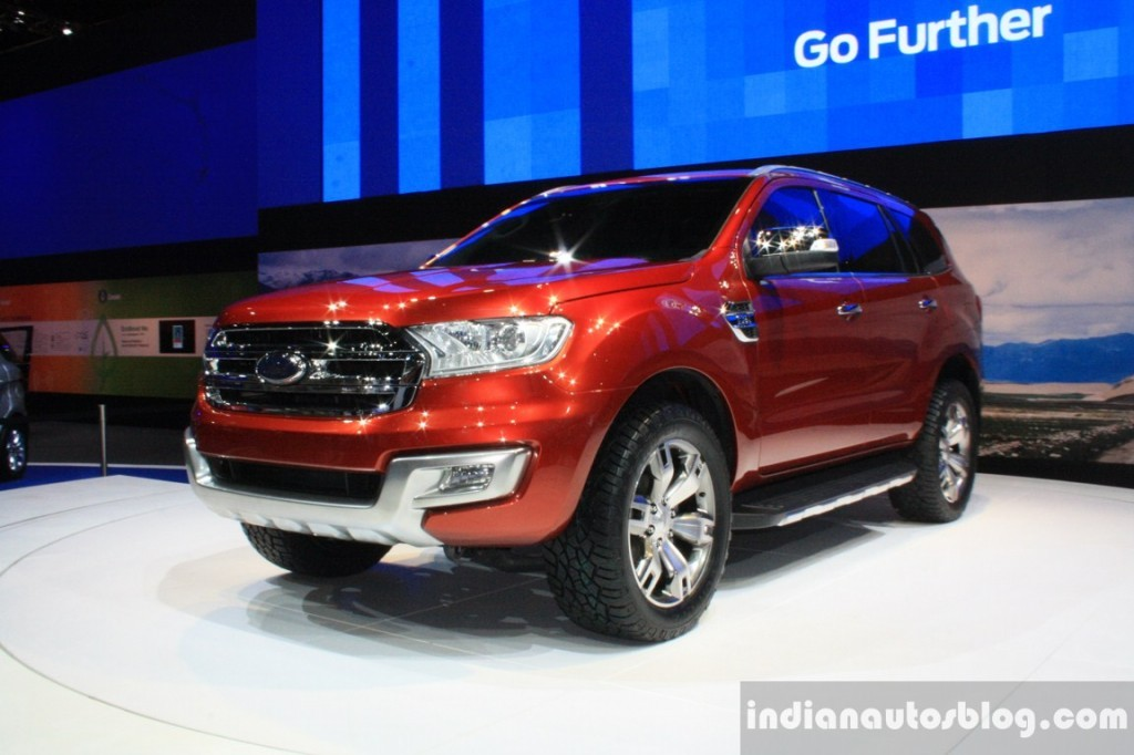 New Generation Ford Endeavour Spied Testing In China