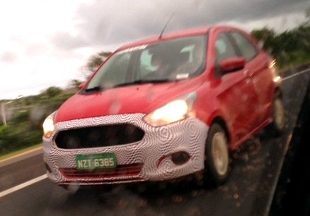 New Ford Figo aka Ka hatchback