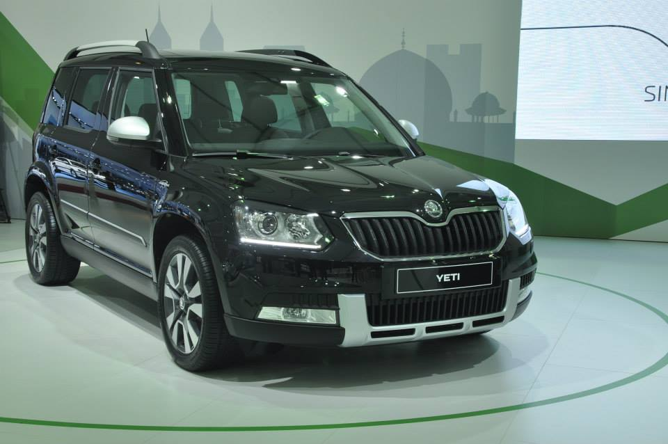 New Skoda Yeti facelift