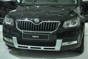New Skoda Yeti facelift grille