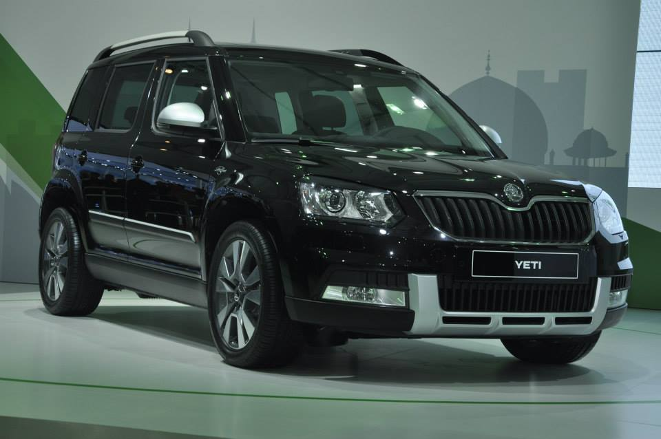 New Skoda Yeti facelift side