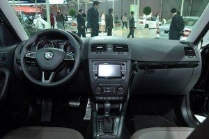 New Skoda Yeti facelift interiors