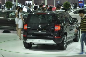 New Skoda Yeti facelift rear