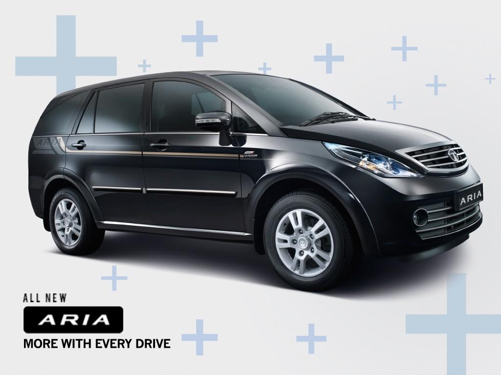 New Tata Aria facelif