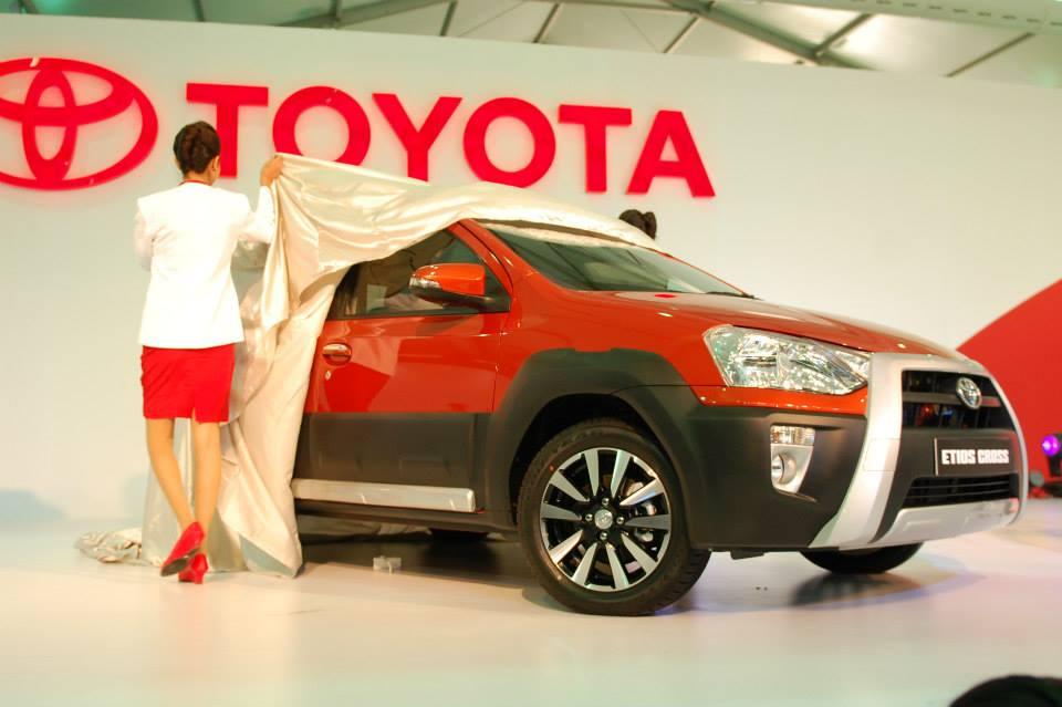 Toyota Etios Cross Unveiling